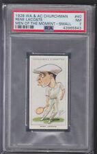 Churchman - Men Of The Moment In Sport 1928 - Rene Lacoste - Tennis - PSA 7 NM
