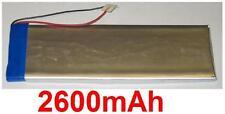 batteria Li-polimero 2600mAh per ARCHOS 5 250GB tipo 80915