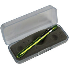 Fisher 400LGCL Bullet Space Pen w/Clip Lime Green (Gift Boxed)
