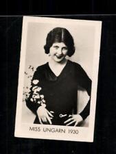 Miss Ungarn 1930 Die schönsten Frauen der Welt Zigarettenbild ## BC 129172