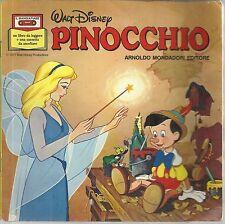 Il Mangiafiabe n. 4 di Walt Disney: PINOCCHIO, I° Ed. Mondadori