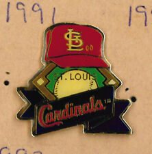 St. Louis Cardinals MLB baseball pin -  logo on hat - badge