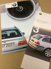 BMW 3 Series Touring UK sales brochure, specification and price list 1999