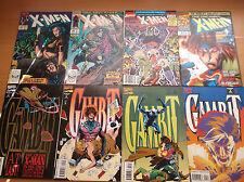 MARVEL: UNCANNY X-MEN #266 & 267, 1ST & 2ND APP. GAMBIT + MUCH MORE, 1990, VF!!!