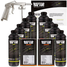 U-POL Raptor Tintable Spray-On Truck Bed Liner Spray Gun, 8 Liters