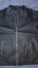 Biker Leather Jacket Jack&Jones Premium