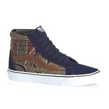 VANS SK8 Hi (Geo Weave) Eclipse Blue Men's Classic Skate Shoes SIZE 11