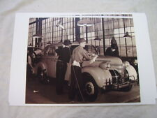 1939 PONTIAC  END OF ASSEMBLY LINE 11 X 17  PHOTO  PICTURE