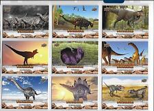 Upper Deck Dinosaurs 100 Base Card Set Plus Wrapper
