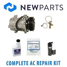 Jeep Wrangler 1991-1993 Complete AC A/C Repair KIT With Compressor & Clutch