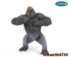 Papo MOUNTAIN GORILLA plastic toy wild zoo animal monkey ape * NEW *💥
