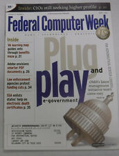 Federal Computer Week Magazine Plug And Play April 2002 071415R