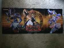 New Yugioh Gold Series 4 Pyramids Yugi Dark Magician Girl Playmat Mouse Pad Mat