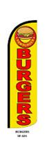 Burger Windless Swooper Flag  Sign