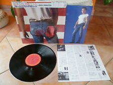 "Bruce Springsteen""Born In The USA""audiophile Japan LP+OBI-MINT-"