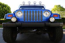 T-REX Billet Series Grille 7 Piece 97-06 Jeep Wrangler TJ LJ 30490 Polished
