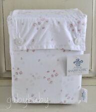 Rachel Ashwell Simply Shabby Chic Pink Rose Sprinkles White CAL KING Sheet Set