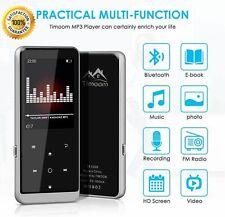 Lettore MP3 32GB Bluetooth, MP4 Player Portatile 48 Ore HiFi Lossless Musicale R