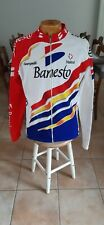 Veste cycliste Campagnolo Nalini Banesto Vintage Ancienne Cycling velo taille 6