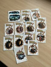 Topps Back to the Future II (1989) Full Set of Puzzle Cards + 4 spares - VVGC!!