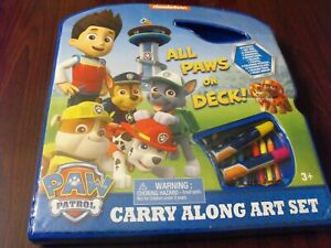 Paw Patrol ALL PAWS ON DECK  Carry Along  Art Set