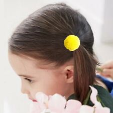 5PCs Elastic Girls Pompom Ball Hairband Rope Ring Hair Band Ponytail Holder New