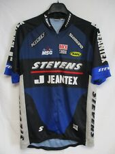 Maillot cycliste STEVENS JEANTEX SHIMANO ROCK SHOX cycling shirt jersey XL