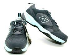 "NEW!! NEW BALANCE ""627""NAVY & LIGHT BLUE STEEL TOE WORK SNEAKERS WOMEN'S SIZE 7"