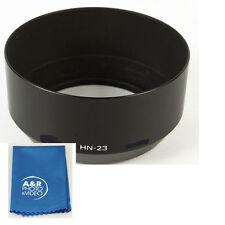 Metal Lens Hood fr 85mm F1.8 AF & 80-200mm F4 AIS Lenses Replac Nikon HN-23 HN23