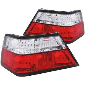 Anzo 221159 Taillights Red / Clear For 1986-1995 Mercedes Benz E Class W124