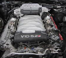 Original Audi S6 4F S8 4E 5.2 V10 Quattro Motor BXA 320KW Motorblock G3