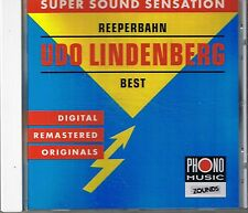 Lindenberg, Udo Reeperbahn (Best of) Zounds CD