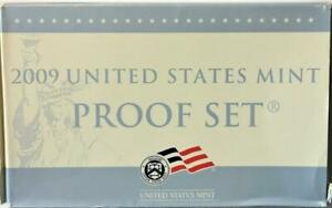 Scarcer 2009 U.S. 18 Coin Proof Set Over $7.00 Face Value ! Free USA Shipping