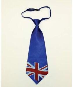 CLEARANCE Great Britain Union Jack Fancy Dress Adults Jumbo Tie