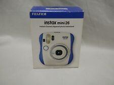 USED Fuji Fujifilm Instax Mini 26 Instant Film Camera with original box (3C1)