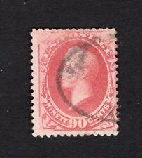 USA 1882 stamp Scott#191 carmine perf 12 CV=360$