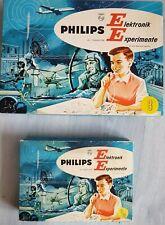 Philips Elektronik-Baukasten EE 8 und EE8/20, gut erhalten, Funktion geprüft, vo