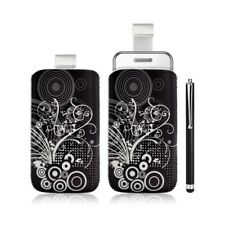 Housse coque étui pochette pour Samsung Player One S5230 avec motif + stylet lux