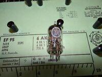 Röhre Valvo EF 95 Tube 5 mA Valve auf Funke W19 geprüft BL-1892