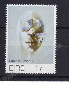 UMM MNH STAMP SET 1977 IRELAND EIRE ART 9TH ISSUE L L BROCQUY SG 408