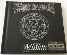 CRADLE OF FILTH MIDIAN LIMITED EDITION CD ALBUM 2001 DIGIPACK PELLE RARISSIMO!