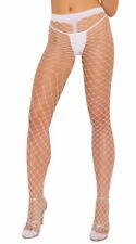 One Size Fits Most Womens Spandex Diamond Net Pantyhose, Spandex Fishnet