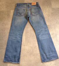 Levi's 512 Bootcut Jeans Tamaño 32 X 30 Red Tab en muy buena condición ver descripción
