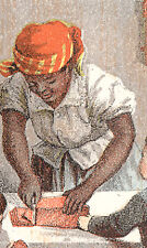 DINAH THE BLACK COOK &KIDS. LIBBY COOKED CORNED BEEF TRADE CARD,CANNED MEAT C909