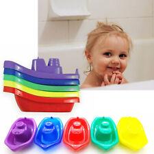 Bebé Baño Juguete Niños Niños Diversión Jugar flotante de barco Multicolor Plástico 6+ meses