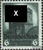 Deutsches Reich 546 postfrisch 1934 6. Nürnberger Reichsparteitag