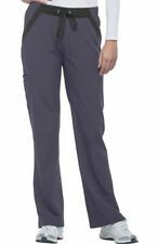 """Healing Hands Performance #9167 Elastic Waist Cargo Scrub Pant in """"PWT"""" Size XS"""