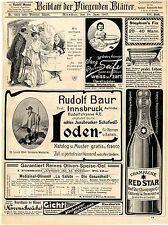 Red Star Champagne Co.Châlons s.M./Frankfurt a.M. Ultramobil- Ges. Berlin H.1907