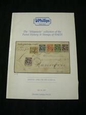 "PHILLIPS AUCTION CATALOGUE 1987 HAITI ""HISPANOLA"" COLLECTION"