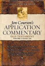 1: Jon Courson's Application Commentary: Old Testament Genesis-Job